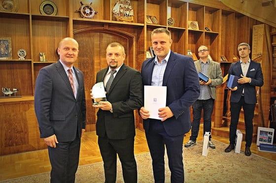 """Certyfikat """"Zrobione w Szczecinie"""""""