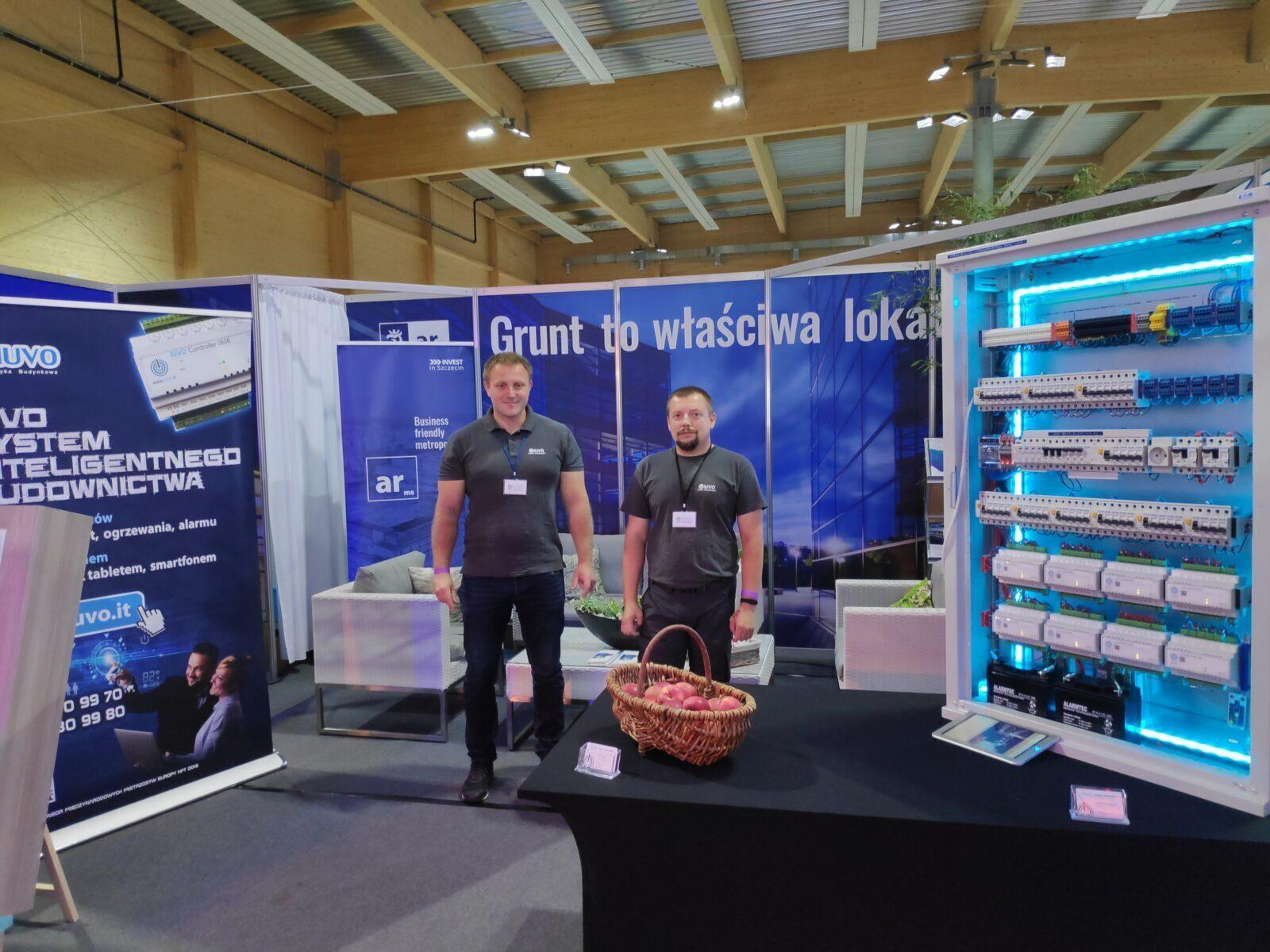 Stoisko podczas Challenger ATP Pekao Szczecin Open 2019